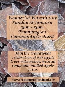 wassail 2015 poster