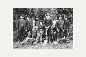 Gardeners all kitted out