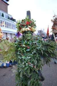 Holly King from Bankside Wassail